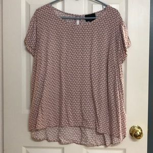 High slow blouse
